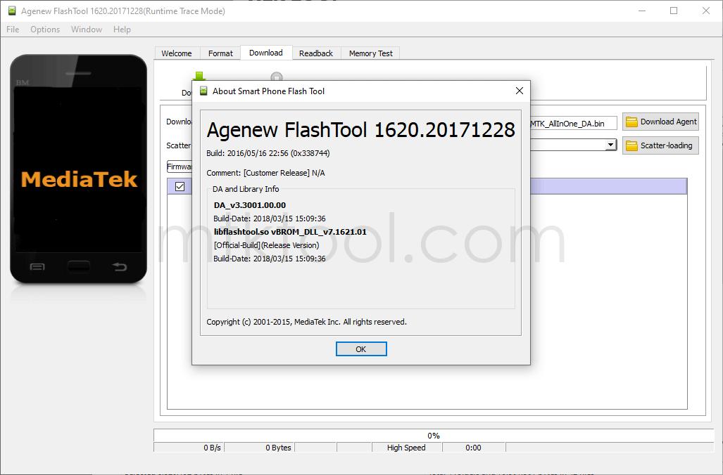 Agenew FlashTool v1620