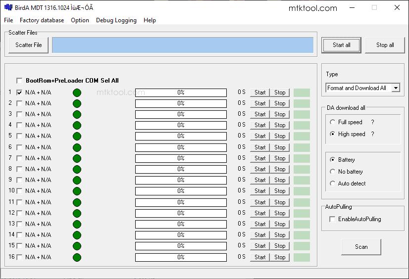 BirdA MDT Tool v1316